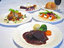 *ディナー一例♪牛ほほ肉のシチューは特に好評です!