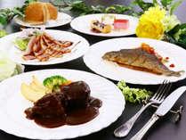 スタンダード夕食◆当館といえば洋食料理!
