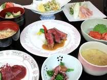 夕食料理(一例)