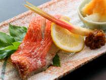 *焼き魚:伊豆の旨味たっぷり!新鮮な焼き魚をどうぞ♪
