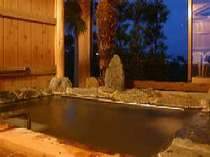 昼は海、夜は星を見ながら露天風呂でゆっくり。無料にて貸切できます。