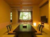 「別邸六花 2階やしお」は半露天付和室