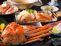 当宿の越前活ガニはすべて黄タグ付き!蟹を贅沢に味わえる蟹付会席。