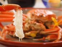 ●蟹フルコース●BIGサイズ「越前活ガニ」を茹で蟹で&「特製焼きしゃぶ」も