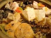 あん肝が溶けこんだ味噌味風味のあんこう鍋