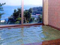 *大浴場*対岸から運ぶ、天然の内海温泉のお湯をお楽しみいただけます♪