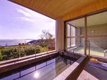 *露天風呂/夕日や朝日を眺めながらのご入浴が◎自然の息吹を感じながらごゆっくりお寛ぎ下さい。