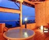 朝日が望める専用露天風呂付き客室