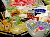 【瑞宝会席一例】写真はイメージです。季節ごとの食材を使用し、季節にあわせたお料理を提供いたします。