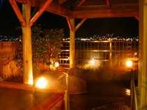 諏訪湖を望む露天風呂・地酒風呂