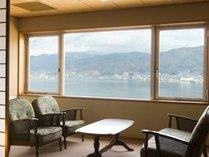 和室(特別室)からの眺めはコレまた贅沢