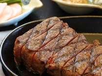 和食に牛の石焼♪