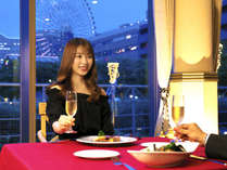 窓から注ぐ煌びやかな聖なる夜のイルミネーション。今宵あなたの為だけの一夜を美食と共に―