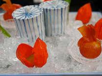 季節を味わう。涼味・夏の前菜(例)