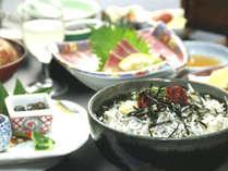 湯浅名物・しらす丼会席コース♪喉ごしまろやかなしらす丼に、旬の湯浅のお料理を添えて…