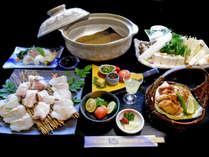 【冬海の王様☆高級魚クエ鍋】一度食べれば納得!脂ののり具合抜群♪冬季限定の天然クエ会席