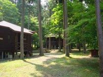 森のコテージ
