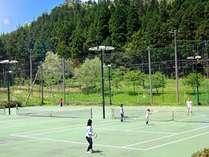 テニスでリフレッシュ!!身体を動かしていい汗流そうコテージ貸切宿泊プラン