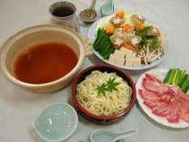 【選べる夕食】3種類からセレクト☆あったかゆったりお鍋プラン