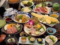 """【竹】満腹♪牛肉と鮮魚の""""いいとこ取り""""会席"""