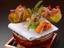 【秋の一品付料理イメージ】秋の食の風物詩『松茸料理』。至福の香りと歯ごたえを。