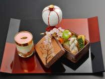 【春の会席】春の旬の風物詩は筍。色鮮やかな京野菜と一緒に五感たっぷりとお愉しみください。