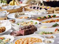和洋中夕食ブッフェ※イメージ