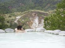 絶景露天風呂「こまくさの湯」