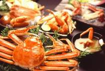 山陰の冬の味覚『松葉がに』。ゆで・焼き・鍋など…お好みで。