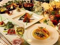 スタンダードプランのディナー一例