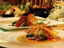 和食とフレンチがどちらも味わえるディナー