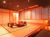 京風和モダンな新客室(14畳)  42型液晶テレビ DVDプレーヤー設置