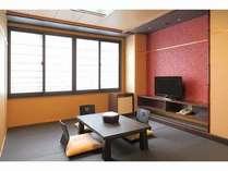 黒い畳のモダン和室「芙蓉」
