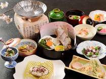 ■旬の味覚 春の会席料理イメージ