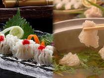 淡路産鱧を使用した夏の美味、鱧鍋