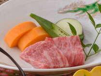 神戸牛の一口ステーキ