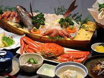*お食事例/若狭湾と言えば海鮮!厳選食材を一番美味しい食べ方で★お腹一杯お召上がり下さい。