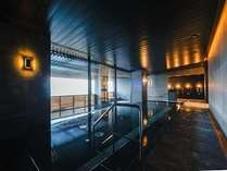 7月15日(土)オープン!温泉イメージ。大磯温泉を源泉とした露店風呂と内風呂