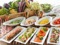 夕食 S.DININGサラダバーのイメージ