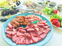 キシモトの夏の自慢は、浜茶屋での快適BBQ!