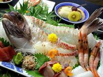 お造り☆スタンダードよりも贅沢な食材を使用した【グルメプラン】(お料理一例)