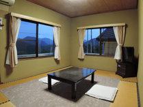 【和室6畳】眺望はおまかせとなります。
