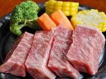 しまね和牛(130g)ステーキ。切れ数が変わることがあります。(例)