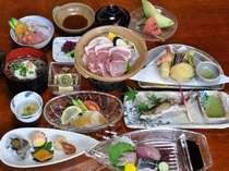 平日限定プチ海鮮丼付会席(例)