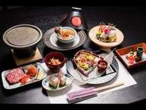 ★【夕食一例】お客様から評価の高い料理長が腕を振るうコース料理
