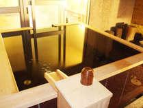 ★【ぶどうの湯・露天】既存の女子浴場を改築して造った貸し切り風呂は露天も内湯もあり広々としています。