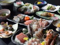 海鮮好きにはたまらない【刺身の盛合せ&海鮮しゃぶしゃぶ】
