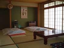 広い和室はゆったりとお過ごしいただけます
