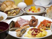 【朝食】和洋ブッフェ/好きな物を好きなだけお召し上がりください。