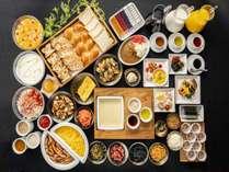 無料朝食は新型コロナウイルス感染症拡大防止の為、当面の間提供を中止しております。(3/4~)
